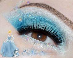 Cinderella Make Up ...  Pretty ... http://media-cache-ak0.pinimg.com/originals/bc/44/81/bc4481cb176313b9e790a752c7235a1a.jpg
