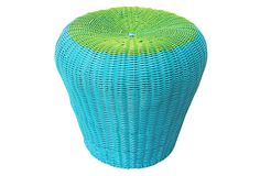 Baja Stool, Blue/Green on OneKingsLane.com