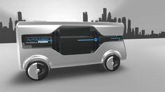 La visión de Ford de la Ciudad del Mañana: Concepto Autodelivery