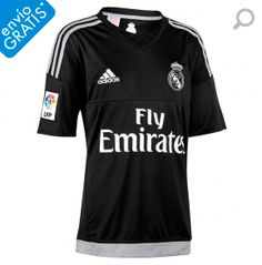 264ea43994820 Camiseta 1ª Real Madrid 2015 2016 Portero Junior