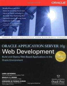 Thoroughly updated to focus solely on Oracle technologies, this Oracle Application Server book fills a web development market voidEven. All Codes, Mcgraw Hill, Data Analytics, Book Summaries, Computer Technology, Data Science, Web Application, Web Development, Education