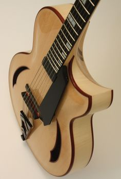 The Eraser is the latest Letain Custom Archtop Guitar