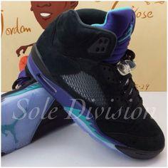 Air Jordan Retro 5 - Black Grape Jordan Retro V eb5a8fac3