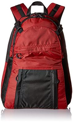 Diversion Carry Backpack BlkRed ** Check this awesome product by going to the link at the image. Cool Backpacks, Designer Backpacks, Concealed Carry, Casual Bags, Travel Backpack, Carry On, All In One, Hiking, Bag Design