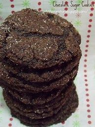chocolate sugar cookies - and other sugar cookie recipies