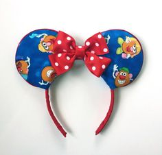 Disney Inspired Mr. And Mrs. Potato Head Ears by ToNeverNeverland