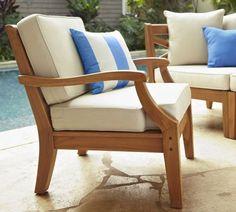 Hampstead Teak Rectangular Extending Dining Table Chair Set Honey Pottery Barn Dream