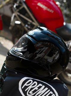 Premier Touran Carbon helmet