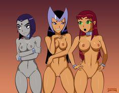 Starfire And Raven, Teen Titans Starfire, Dragon Ball, Sexy Cartoons, Star Wars Art, Girl Cartoon, Marvel Dc, Scooby Doo, Princess Zelda