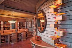 Experience the Hawaiian Frank Lloyd Wright House built on the Big Island's Kohala Coast. Frank Lloyd Wright Buildings, Frank Lloyd Wright Homes, Magritte, Wisconsin, Usonian, Sims House, House Built, Dieselpunk, Renting A House