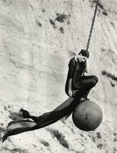 Wrecking Ball | From a unique collection of black and white photography at…