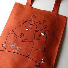 TO JE LÁSKA :o= - taška nákupka Reusable Tote Bags