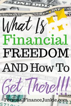 Learn what financial freedom looks and feels like. Discover the steps to reach financial freedom and find your own independence. Click to read more.