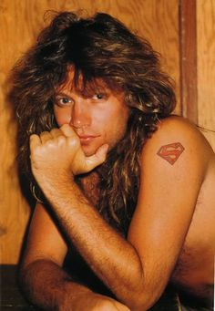 Jon Bon Jovi. <3<3<3<3<3 I had to do a pict from the 80's not that he has aged since then   #stillgeorgeous!!!!
