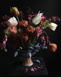 Happy Mother's Day! #happymothersday #sunday #spring #flowers #garden #porcelain #potsinaction #shino #mytinyatlas #blooooms #dsfloral #handmade #pottery #instagram #instapottery #color #iphone6