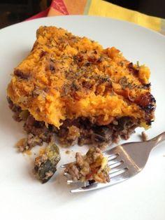 Cottage Pie, tipico inglés. Receta (recipe, recipe), comida (food, food)
