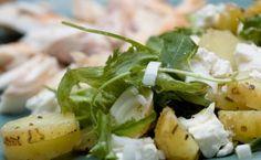 Pastanjauhantaa: Sitruunainen perunasalaatti sekä savustettua siikaa