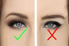 Many people with hooded eyes think they can't wear winged eyeliner, but they're wrong! Just remember to keep the line as thin as possible.
