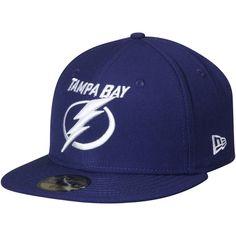 fbddcdd24803e Tampa Bay Lightning New Era Team Color Fitted Hat - Blue