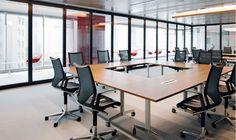 Jones Lang LaSalle   Hong Kong   mmoser associates   MODUS office chair by #Wilkhahn