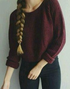 Image via We Heart It #beauty #braid #clothes #fashion #hairstyles #love #outfit