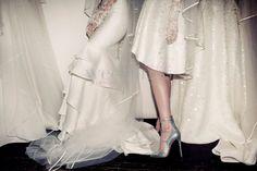Scarpe sposa Christian Louboutin sfilano con le collezioni sposa 2016