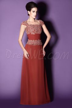 110.73 Dresswe.com SUPPLIES First-Class Lace Sheath Square Neckline Floor- Length Taline s Mother of the Bride Dress 51147ce059c2