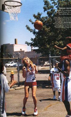 Basketball in fashion.