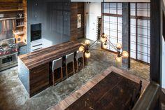 Kitchen - like this entire flat  Jane Kim Design - contemporary - Kitchen - New York - Jane Kim Design