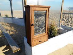 Rustic Bathroom Storage Cabinet Bathroom by MemoryOfThePast