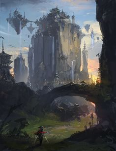 Park Jong Won is a Korean concept artist who currently works for NCSoft, the MMO giant behind games like Lineage, Aion and Guild Wars.