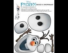 FREE Disney's Frozen Activity Sheets!