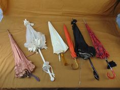 Lot of Retired STAGE PROPS Hendrickson Photos Antique Vintage UMBRELLA PARASOL