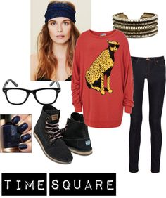 """""""Time square"""" by thisthatrjb on Polyvore"""
