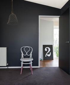 Exterior paint colors for house dulux feature walls 17 trendy Ideas Interior Color Schemes, Paint Color Schemes, Gray Interior, Interior Paint, Interior Design, Dulux Feature Wall, Black Feature Wall, Feature Walls, Exterior Paint Colors For House