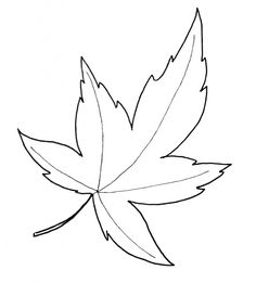Autumn Leaf Template: Free Printable Maple Fall Autumn Leaf Template PDF and decorate your house, office, classroom, living room Maple Leaf Template, Leaf Template Printable, Printable Leaves, Heart Template, Butterfly Template, Flower Template, Crown Template, Free Printable, Fall Leaves Coloring Pages