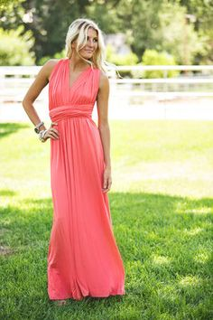 Gorgeous Coral Swan Lake Dress CLEARANCE