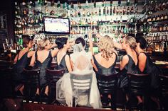 Cute Bridal Party Photo! Photo by Chris K. #MinneapolisWeddingPhotographers #BridalParty