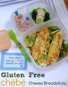 Gluten Free & Allergy Friendly: Lunch Made Easy: Chebe Gluten Free Mix - One Box, Five Lunches