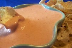 Pancho's-like Cheese Dip  1 can (10 oz.) Ro-Tel brand chiles and tomatoes  1 tsp. garlic powder  1 tsp. ground cumin  ¼ tsp. black pepper  1 lb. Kraft American cheese  ¼ Ro-Tel can of water  Note: Kraft American Cheese is packaged in a blue box near Velveeta cheese at grocery stores.