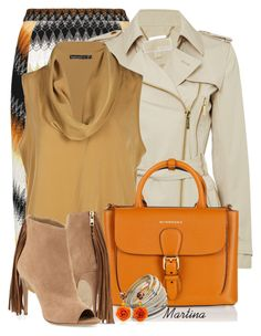 """Bez naslova #2447"" by martina-cciv ❤ liked on Polyvore featuring Missoni, Michael Kors, Burberry, Miss Selfridge and Bahina"