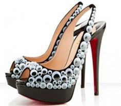 Would you pay $1,600 for Louboutin's covered in googly eyes? Neither would I...