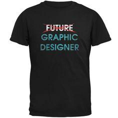Graduation - Future Graphic Designer Mens T Shirt