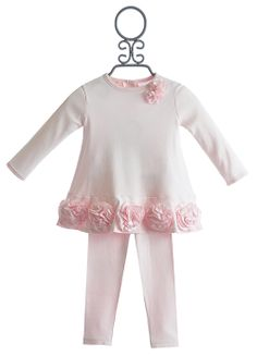 Baby Biscotti Infant Dress with Legging Couture Cutie $59.00