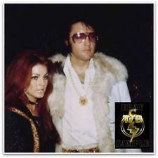 Rare photo of Elvis and Priscilla Presley