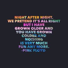 One of My Turns ~ Pink Floyd