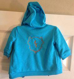 Rumble baby hoodie Oklahoma City thunder baby hoodie by duvdesigns, $20.00