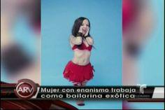 Mujer Con Enanismo Trabaja Como Bailarina Exótica #Video