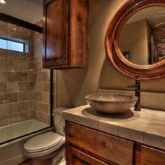 Barndominium 2nd bathroom BUT want it in Knotty Pine