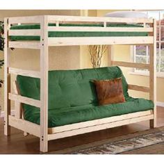 Loft Bed With Futon Maybe For When The Kiddos Come Over